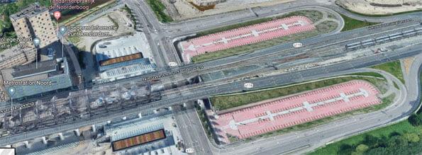 P+R station-Noord