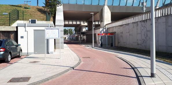 P+R Station Noord ingang station